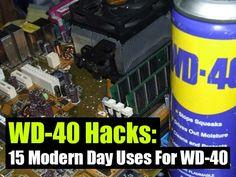 15 Modern Day Uses For WD-40 - SHTF Preparedness