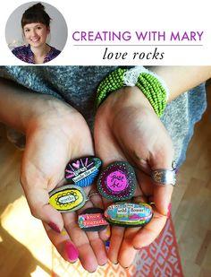 love rocks with mary