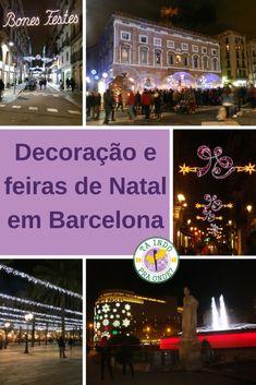 Decoração e feiras/mercados de Natal em Barcelona!