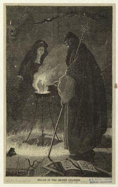 """Zillah in the secret chamber, 1868 Harper's weekly via ghoulnextdoor """""""""""