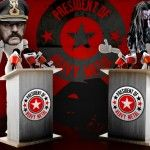 Lemmy Kilmister vs. Rob Zombie – President of Heavy Metal Election, Semifinals