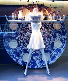 Inspiration -Piece of Art windows At de Bijenkorf Den Haag
