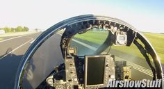 Helmet camera provides a unique point of view of the arrival at the 2016 EAA AirVenture airshow in Oshkosh, Wisconsin, of one of the last U.S. Air Force F-4s. Two of the just twenty remaining Phant…