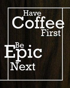 Have an epic day!  You going home before band?  I'm about til 7...