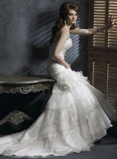 Trumpet / Mermaid Sweetheart Chapel Train Charming Organza over satin wedding dress,bridesmaid dresses bridesmaid dresses,bridesmaid dresses bridesmaid dresses,bridesmaid dresses bridesmaid dresses