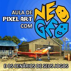 Aula de Pixel Art com Neo Geo e os cenários de seus jogos. Leia o artigo completo: http://wp.me/p90oS-fR