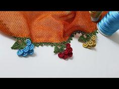 Yampiri Yampiri Yapraklı Fıstık Oyası Yapımı - YouTube Make It Yourself, Crochet, Line Art, Crochet Decoration, Knit Crochet, Crocheting, Chrochet, Hooks, Ganchillo