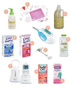 health-and-safety-essentials-for-baby. never had a monitor b/c my house is small but otherwise all of these things you'll want sooner or later :)