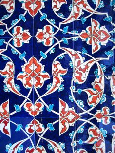 Iznik tiles (Turkey)