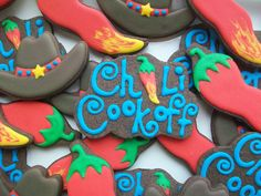 Chili Cook off Cookies