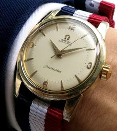 Original Omega Seamaster Automatic Caliber 501 - Two Tone Dial