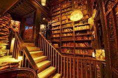 Have bookshelves instead of walls #DreamHouse #BookshelfPorn
