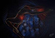 """Saatchi Art Artist Sylvia C Sosnovska Artist; Drawing, """"Ignition"""" #art"""