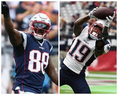 Now that TE Rob Gronkowksi (chest) and WR Chris Hogan (back) have been ruled out, expect more Bennett and Mitchell than you normally see. Chris Hogan was a game-time decision last week after his back started stiffening. He played anyways and didn't have a catch. Oh and not to mention, we'll most likely get to finally see Dion Lewis play as he wasn't on the injury report all week and made the flight to San Francisco 🙏🏼