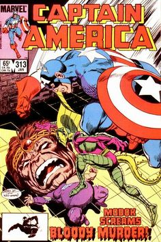 Captain America # 313 by John Byrne & Al Williamson