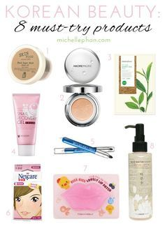 Must Try Korean Beauty Products