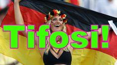 Mondiali 2014 Brasile Video Tifosi da Italia a Germania