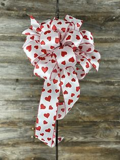 Valentine Heart, Valentines Day, Tall Lanterns, Wreath Stand, Bow Display, Wired Ribbon, Valentine Decorations, Streamers, Red And White