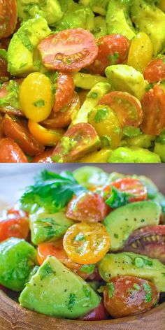 Tomato Salad - Healthy and so flavorful, this Avocado Tomato Salad makes a great addition to your dinner or lunch. -Avocado Tomato Salad - Healthy and so flavorful, this Avocado Tomato Salad makes a great addition to your dinner or lunch.