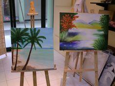 pintura a óleo Painting, Fabrics, Pintura, Art, Painting Art, Paintings, Paint, Draw