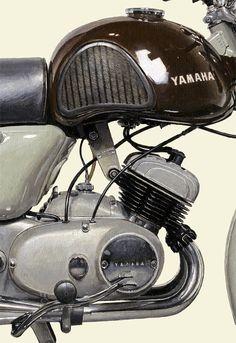 #2101006HQ 1958 YAMAHA YD-1 | detail