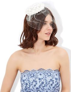 For perfect party dresses, elegant eveningwear and stylish occasion pieces, explore our new range. Let our women's and children's collections inspire you. Fascinator, Flower Veil, Wedding Hair Inspiration, Wedding Ideas, Monsoon Uk, Bridal Flowers, Free Clothes, Women's Accessories, Beachwear