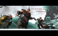 Stoick and Valka HTTYD2 edit~!