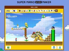 Ahora puedes diseñar tu propio wallpaper con elementos del juego Super Mario Maker, para ponerlo en la pantalla de cualquier computadora o pantallas de cel