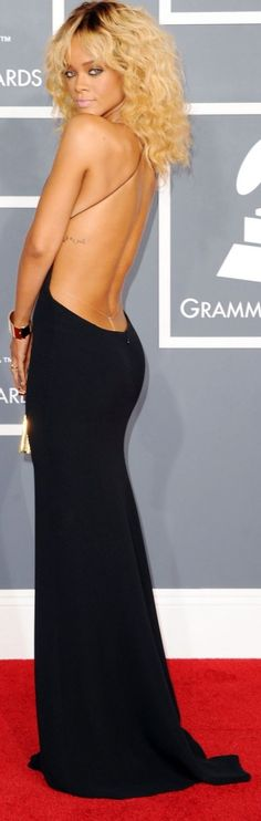 Bringing Sexy Back - Click for More... Rihanna the Grammys #celebrity #fashion
