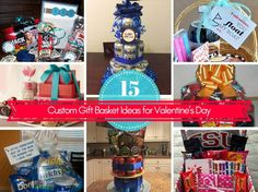 15 Custom Gift Basket Ideas for Valentine's Day