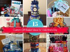 15 Custom Gift Basket Ideas for Valentine's Day