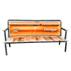 Blue Collar Bench Dodge Orange, now featured on Fab.