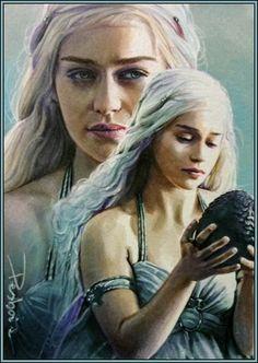 Art-Spire, Source d'inspiration artistique / 47 fantastiques fan art de Game of Thrones