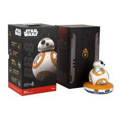 Star Wars VII BB-8 Robotic Remote Control Toy - Sphero - Star Wars - Remote and Radio Control Toys at Entertainment Earth #bb-8 #spherobb8 #bb8 #starwars #friki
