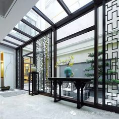 Impress your guest at the first sight with a perfect entryway design. Modern Home Interior Design, Luxury Interior, Luxury Furniture, Entry Way Design, Foyer Design, House Design, Sun House, Chinese Interior, Global Decor