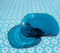 Bali Blue Vinyl Floor Tile: £20 per M2