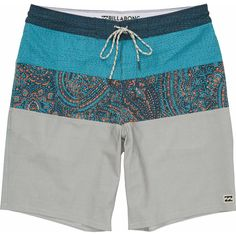 Alternate Product View 1 for Tribong Lo Tides Boardshorts STONE