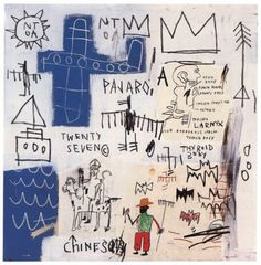 The pilgrimage by Basquiat