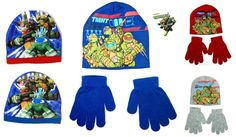 Tmnt kids girls boys official #ninja #turtles #beanie hat or #beanie hat & gloves,  View more on the LINK: http://www.zeppy.io/product/gb/2/112225976229/
