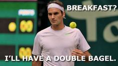 Roger Federer won his match in Halle today 6-0, 6-0.  Friday, June 14, 2013: Gerry Weber Open 2013.