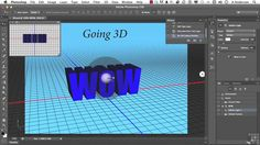 19 Working With Photoshop Type | 05 Bringing Text To Life With 3D Effects
