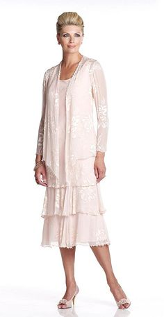 mother of the bride dresses with jackets | Capri CP11478 Mother of the Bride Dress with Jacket image