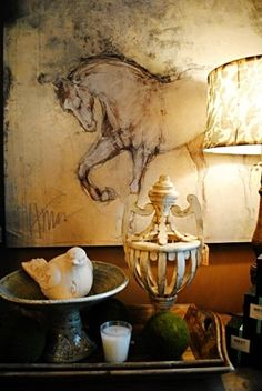 Check out this great piece of art!  See it at HorseandHomeDesigns.com…