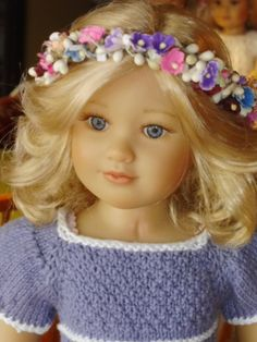 """Beautiful """"Marietta"""" 2011 Kidz n Cats doll"""