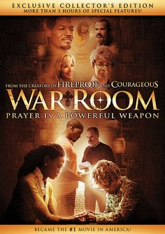 Own the box-office hit movie War Room today on DVD. Stars Priscilla Shirer, T. and Alex Kendrick. War Room reminds us that prayer is a powerful weapon. Great Movies, New Movies, Movies To Watch, Movies And Tv Shows, Upcoming Movies, Awesome Movies, Movies Online, Beth Moore, Films Chrétiens