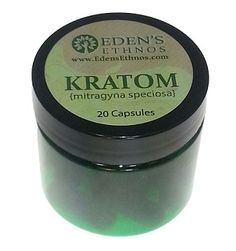 Eden's Ethnos Kratom - 30 Caps : Superior Smoke Shop is a World's Largest Online Head shop