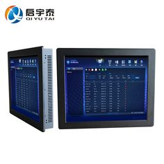 19 inch 1280 x 1024 Resolution Industrial Panel PC with resistive touch screen with CPU celeron C1037U 1.8GHz 2GB DDR3 32G SSD