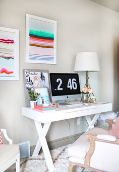Fashion Blogger's Home Office 9