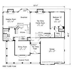 home floor plans with keeping rooms. smallest house plans with a keeping room off kitchen  Google Search Elevated at 600 mm from natural grade line Rey model is four