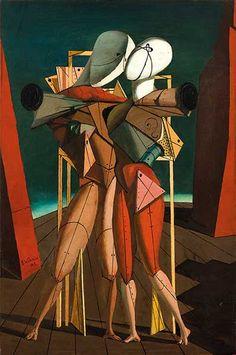 Fan account of Giorgio de Chirico, an Italian Surrealist Painter who founded the Scuola Metafisica art movement. Italian Painters, Italian Artist, Art Picasso, Harlem Renaissance, Magritte, Fine Art, Art Design, Art Plastique, Op Art